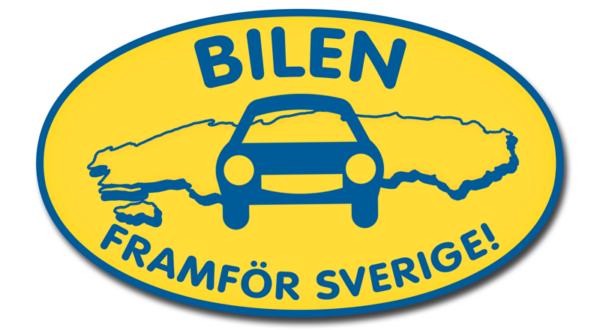 Bilen framför Sverige!