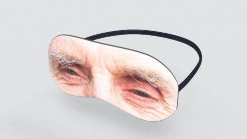 Ögonmask utsida