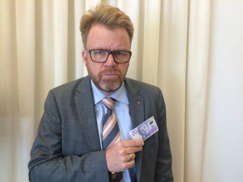 Motormännens Riksförbunds VD Tommy Letzén är arg